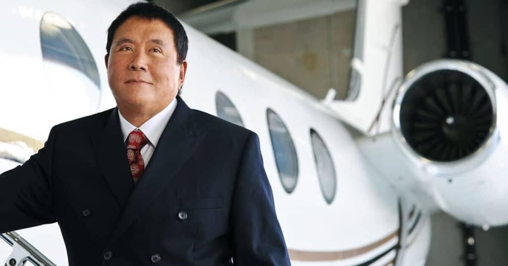 Robert Kiyosaki Private Jet