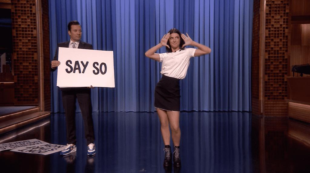 Charli D'Amelio on Jimmy Fallon